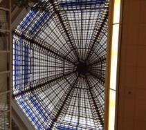 Het dak in de Utrechtse Bibliotheek